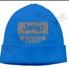 Bonnet bleu Jeep écrit en gris