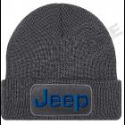 Bonnet Jeep gris / noir, écrit en bleu