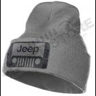 Bonnet Jeep gris, écrit en noir
