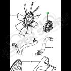 Visco-coupleur pour hélice de refroidissement moteur pour 2.8L CRD Jeep Cherokee Liberty KK