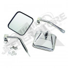 Complete Side Mirror Set (Stainless)