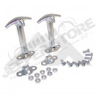 Hood Catch Kit (Stainless-Set of 2)
