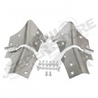 Windshield Hinges (Stainless)