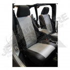 Front Seat Covers (Black/Gray)