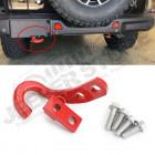 Crochet de remorquage arrière (couleur rouge) Jeep Wrangler JL