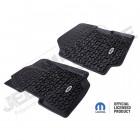 Kit de tapis de sol Jeep (Mopar) en plastique préformé pour l'avant Jeep Wrangler YJ