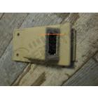 New Old Stock: Plastique pour capteur d'ouverture de porte au plafonnier (couleur beige) Jeep Cherokee XJ