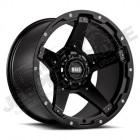 Jante aluminium Grid Wheels (couleur: noir) 9x18 , ET: 15 , 5x127