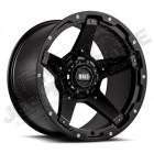Jante aluminium Grid Wheels (couleur: noir) 9x17 , ET: -12 , 5x127