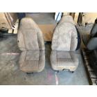 Occasion: Kit de 2 sièges avant basculant (couleur: beige) pour Jeep Cherokee XJ (2 portes)