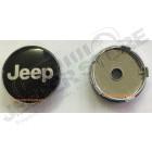 Emblem Jeep pour cache moyeu de jante aluminium (diamètre 60mm) (à cliper)