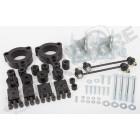 Kit suspension rehaussé +1.5'' (+3.80cm) Jeep Renegade BU