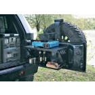 Kit étagères pour ridelle de coffre Suntop Jeep Wrangler JK (2 ou 4 portes)