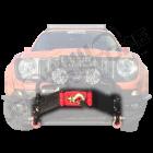Support de treuil pour pare chocs avant pour Jeep Renegade BU