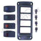 Kit d'extension pour 4 boutons supplémentaire pour Jeep Renegade BU