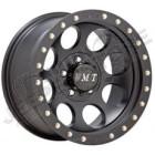 Jante Mickey Thompson Classic Lock Black Aluminium 9x17 5x127 -12 pour JEEP JK, WJ, WG, WH, WK ...