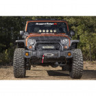 Spartacus Stubby Bumper, Black; 07-18 Jeep Wrangler JK/JKU