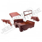 Body Tub Kit, Reproduction, Steel; 41-42 Willys MB