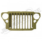 Grille, Stamped, 9 Slot; 41-45 Willys MB/Ford GPW