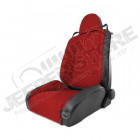 RRC Off Road Racing Seat, Reclinable, Red; 84-01 Jeep Cherokee XJ