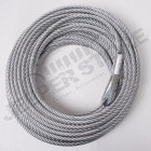 Winch Cable, 23/64 Inch x 94 feet, Steel