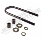 Suspension Leaf Spring U-Bolt, Front, Small; 47-63 Willys Truck/Wagon