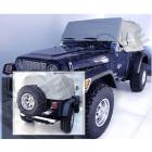 Cab Cover, Gray; 92-06 Jeep Wrangler YJ/TJ