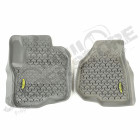 All Terrain Floor Liner, Front Pair, Gray; 12-18 Ford F-250/F-350
