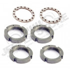 Axle Spindle Nut Conversion Kit; 88-97 Ford F-150