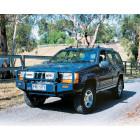 Pare chocs avant Offroad avec porte treuil pour Jeep Grand Cherokee ZJ, ZG
