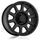 Jante aluminium Pro Comp Série 32 Flat Black 5x127 , 9x17 , ET: -6