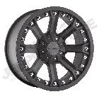 Jante aluminium Pro Comp série 33 Flat Black 5x127 , 9x17