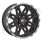 Jante aluminium Pro Comp Xtreme Série 05 Machined 5x127 , 9x17 , ET: -6