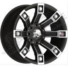 Jante aluminium Pro Comp 7113 Metal Mulisha 5x127 , 9.5x18 , ET: -5