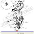 Pompe à huile moteur 3.1L TD (moteur VM) pour Jeep Grand Cherokee WJ, WG