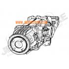 Pont arrière (partie centrale) pour Jeep Compass MK et Patriot MK (version: 4x4)