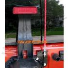 WWW.JEEPERSTORE.COM Support (porte) pour 2 antennes de coffre (hayon) arrière Jeep Wrangler JK
