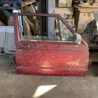 Occasion : Porte avant droite (2 portes) rouge pour Jeep Cherokee XJ (1984-1996)