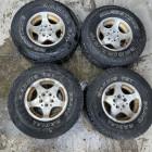 Occasion : Lot de 4 roues 31/10.50R15 - 5x114.3 pour YJ, TJ, MJ, XJ, KJ, ZJ, ZG