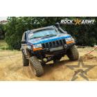 Pare chocs avant acier avec porte treuil Rock Army Jeep Grand Cherokee ZJ, ZG