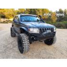 Pare chocs avant acier avec porte treuil (modèle XXT) Rock Army Jeep Grand Cherokee WJ, WG