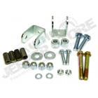 Kit d'adaptateurs pour biellettes rallongées avec la barre stabilisatrice avant Jeep Wrangler TJ et Jeep Grand Cherokee ZJ, ZG