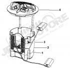 Module de pompe à carburant pour 3.0L V6 CRD (moteur Mercedes) Jeep Grand Cherokee WH, WK