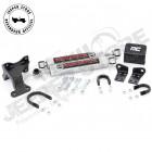 Kit Double Amortisseurs de direction renforcé pour Jeep Wrangler JK