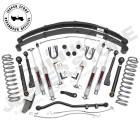 "Kit Réhausse 4.5"" (11.50cm) Rough Country X Série Jeep Cherokee XJ"