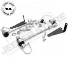 Kit biellettes de barre stabilisatrice avant déconnectable (rehausse 10cm à 15cm, soit de 4'' à 6'') Jeep Wrangler TJ