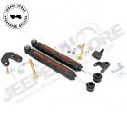 Kit double amortisseurs de direction renforcés RC pour Jeep Wrangler TJ, Cherokee XJ, Grand Cherokee ZJ, ZG
