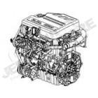 68051745AB Moteur complet (échange standard) 2.8L CRD 177ch. Jeep Wrangler JK