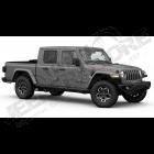 A VENDRE NEUF: Jeep Gladiator JT Rubicon 3.6L V6 essence de 2020 avec 0km, couleur: Gris