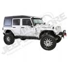 Hard Top Safari complet noir Jeep Wrangler JK Unlimited 4 portes